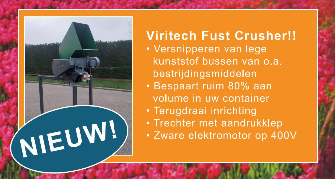 Viritech Fust Crusher